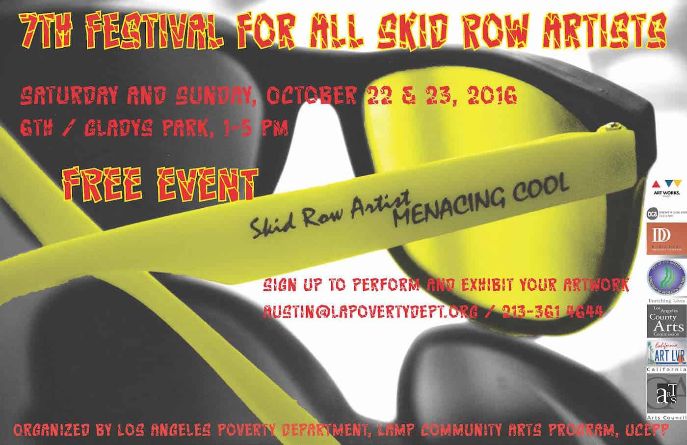 7th Festival For All Skid Row Artists