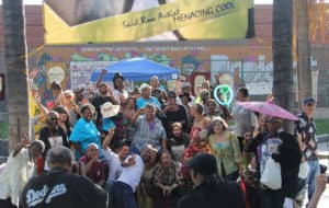 Community Generated Safety—How it works in Gladys Park & PARTY! @ Skid Row History Museum & Archive | Los Angeles | California | United States