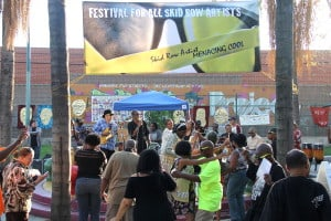 8th Festival For All Skid Row Artists @ Gladys Park | Los Angeles | California | United States