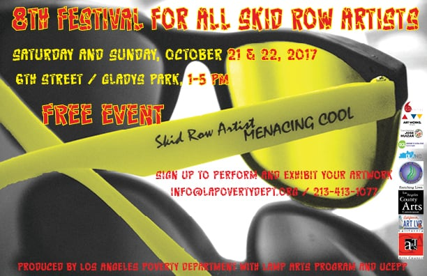 8th Festival for all Skid Row Artists