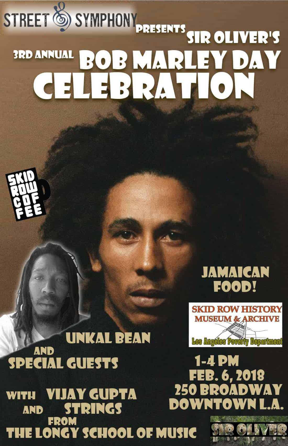 3rd annual Bob Marley Day Celebration