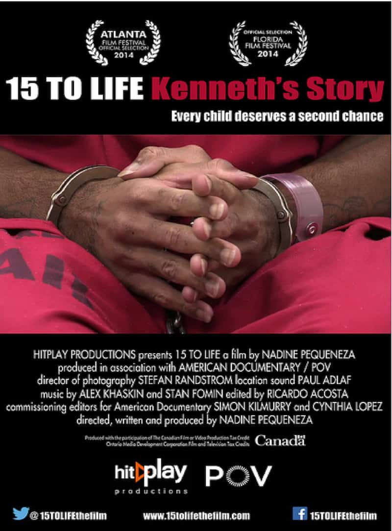 15 TO LIFE: KENNETH'S STORY – 4/19