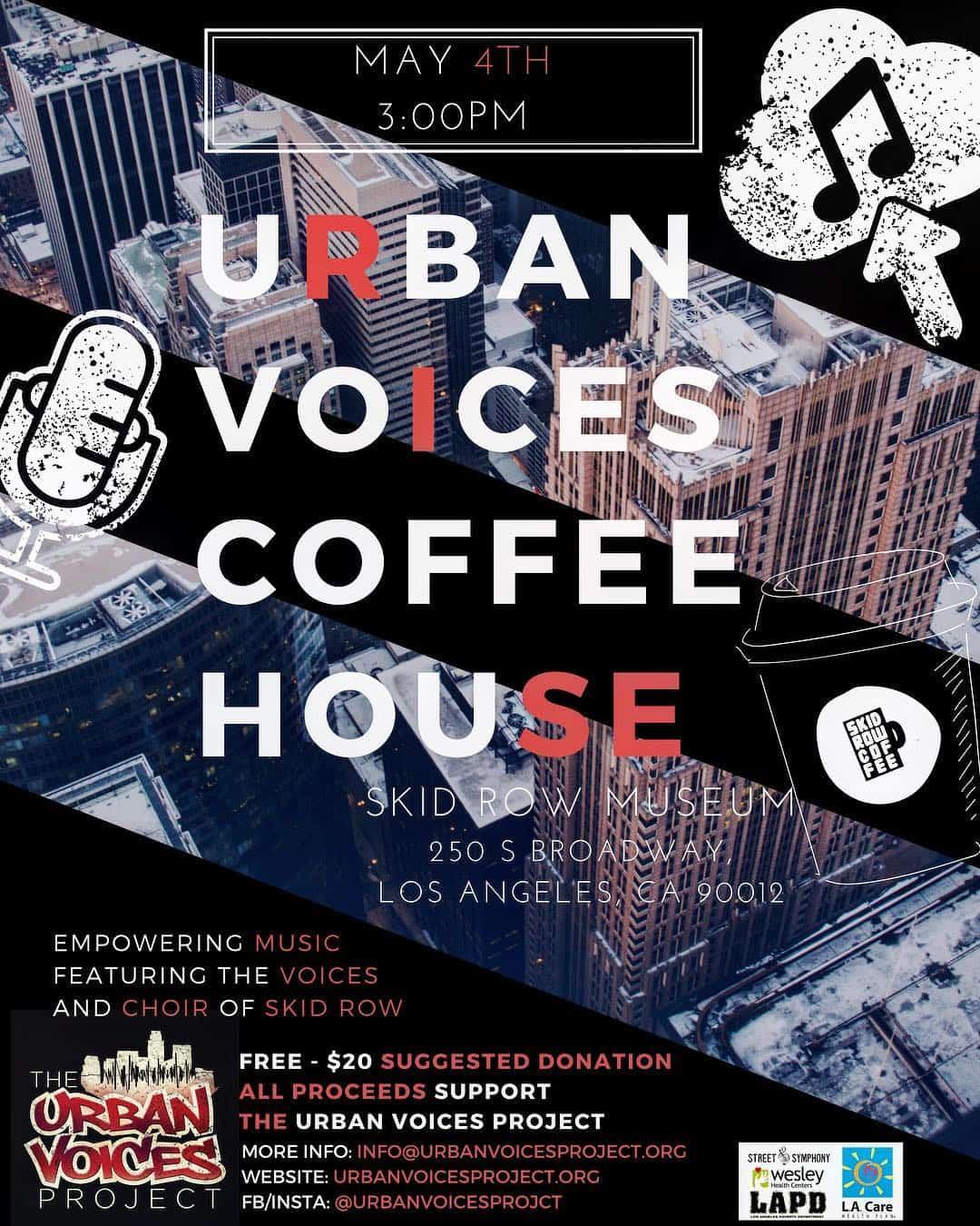 Urban Voices Coffeehouse 2019  5/4
