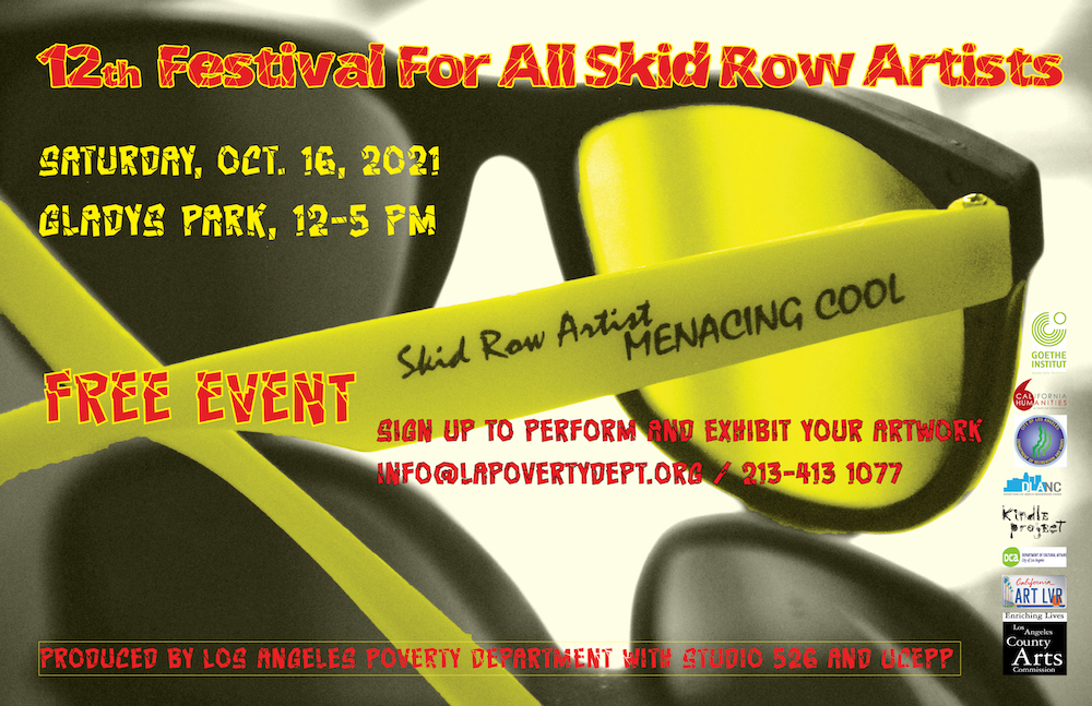 12th Festival For All Skid Row Artists